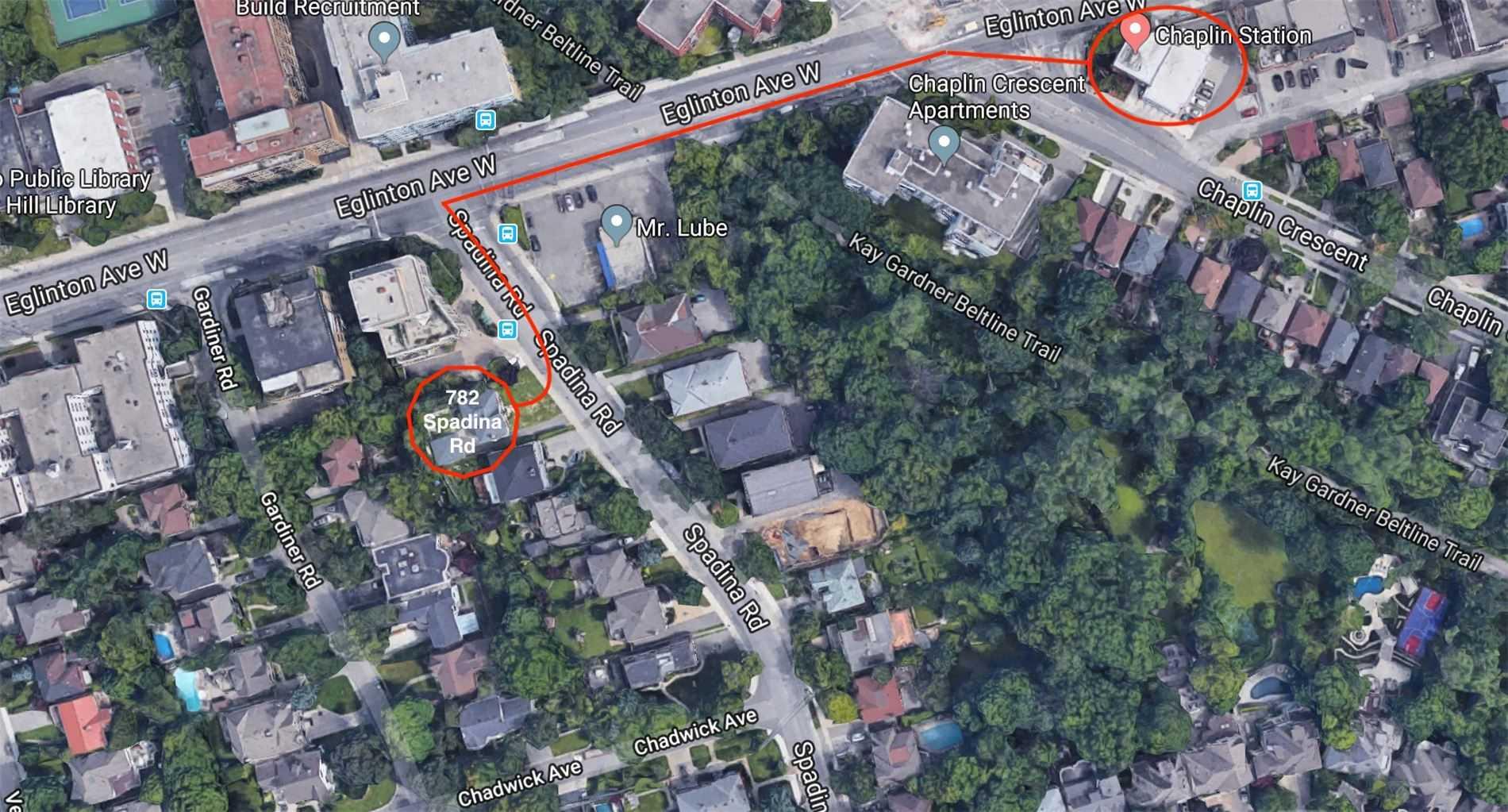 782 Spadina Rd, Toronto C4544843