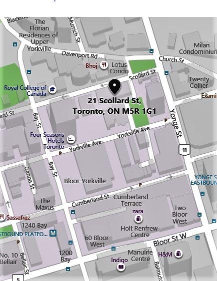 #403 - 21 Scollard St, Toronto C4572144