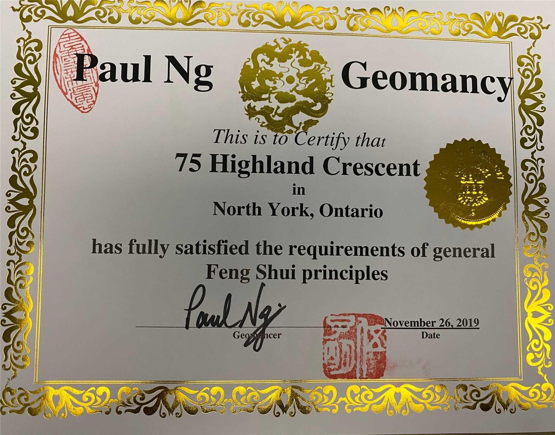 75 Highland Cres, Toronto C4573175