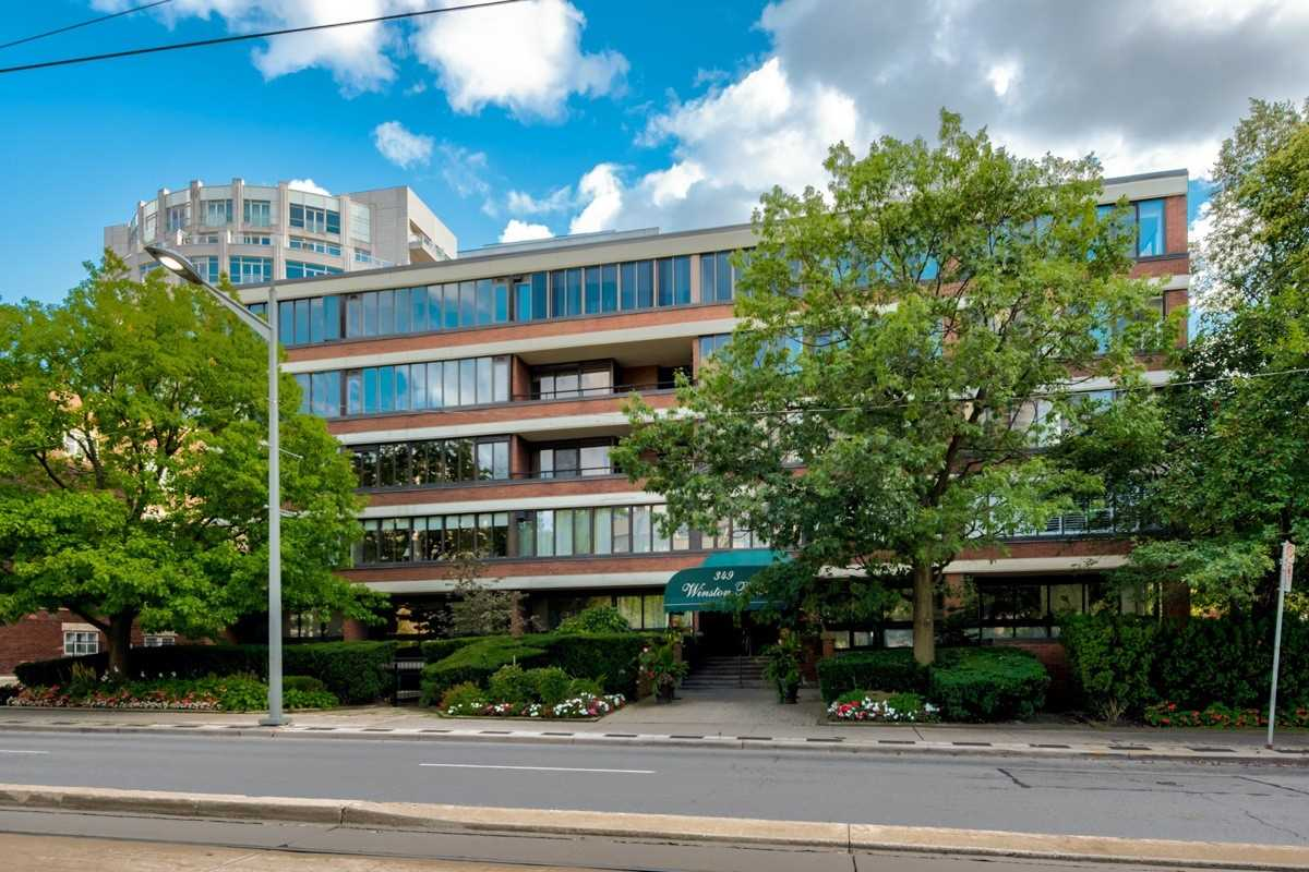 #108 - 349 St Clair Ave W, Toronto C4575323