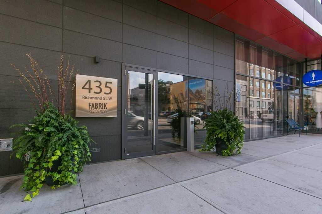 #1101 - 435 Richmond St W, Toronto C4597109
