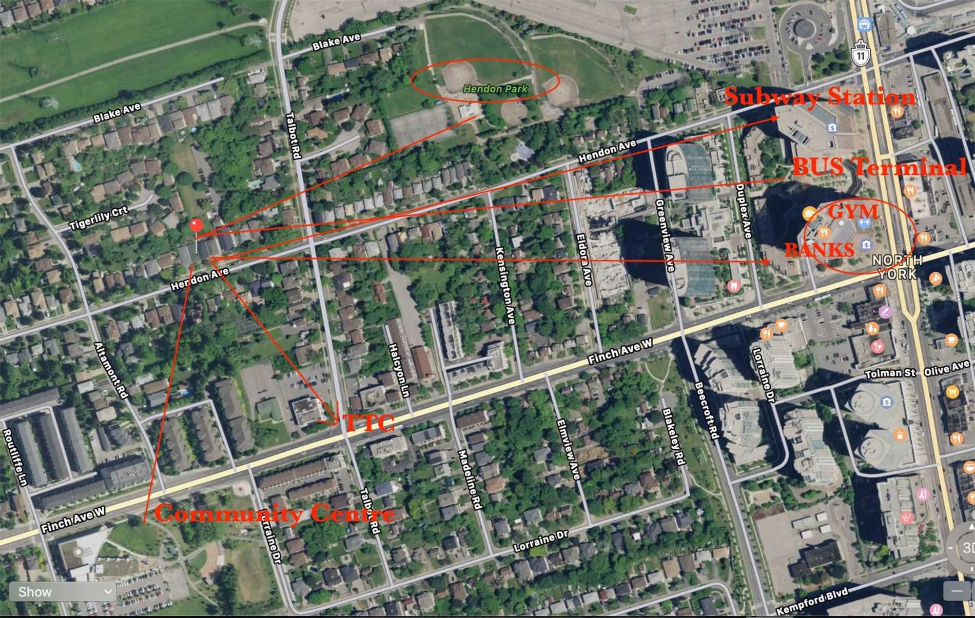 166 Hendon Ave, Toronto C4600409