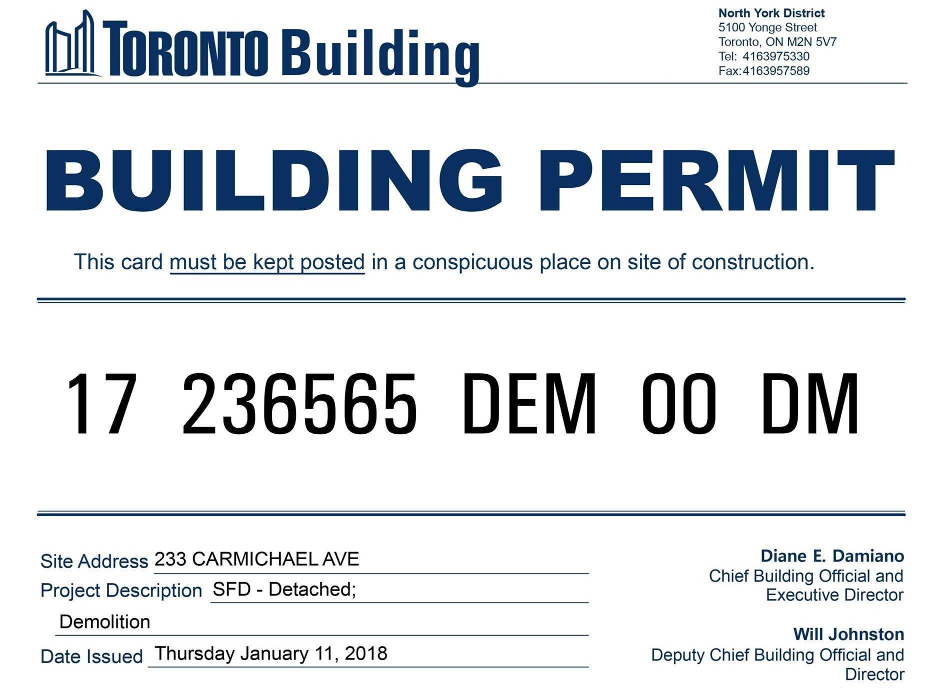233 Carmichael Ave, Toronto C4647000