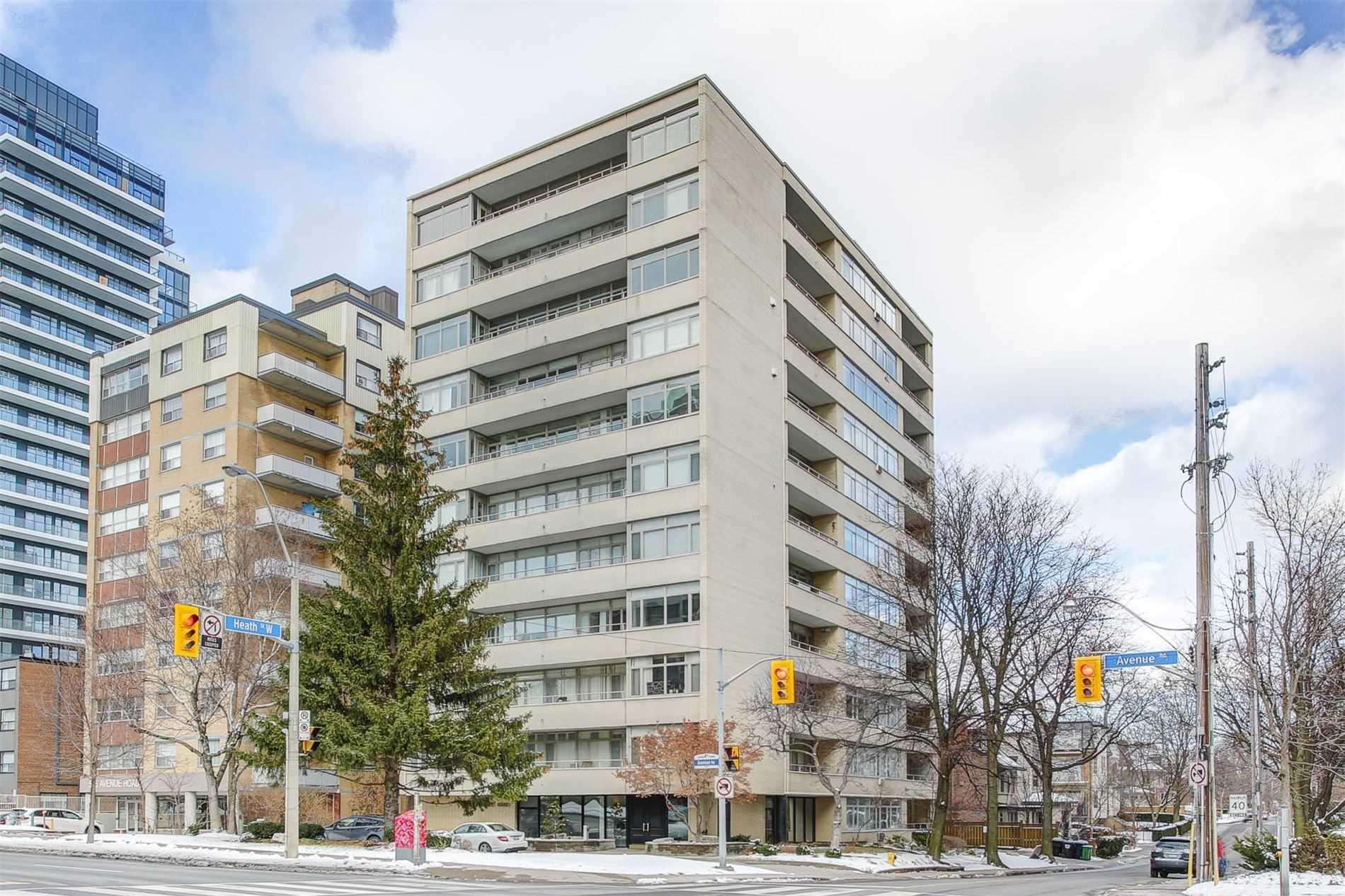 #702-703 - 581 Avenue Rd, Toronto C4662342