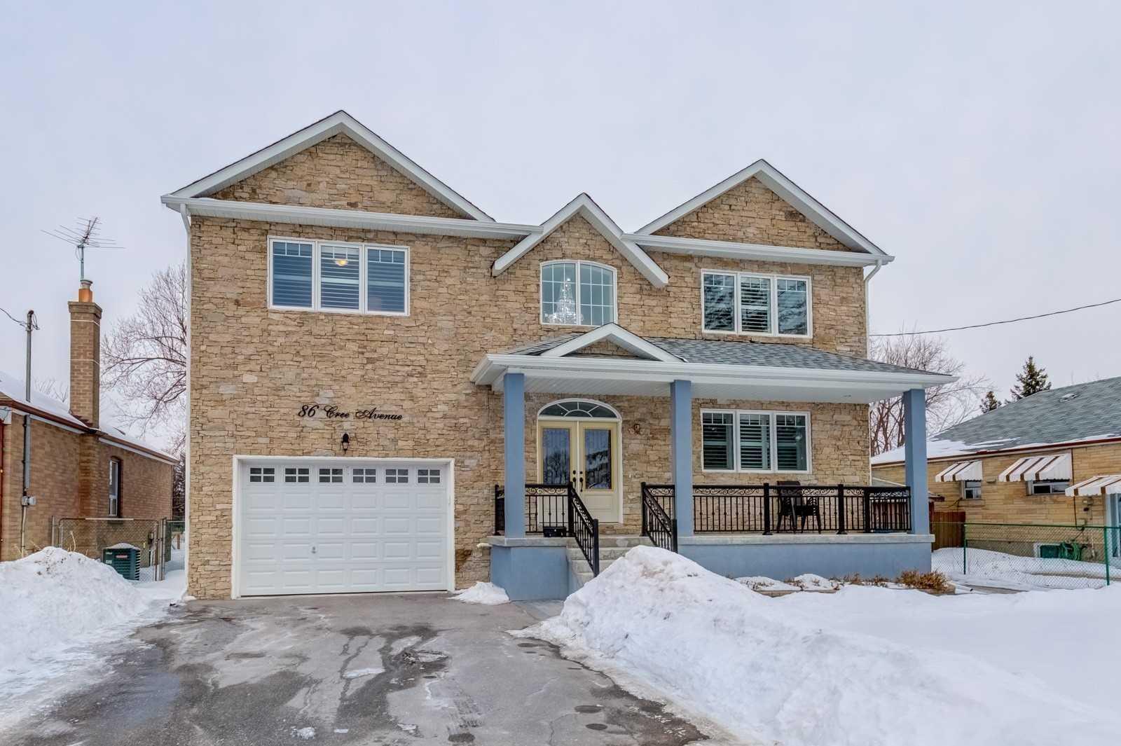 86 Cree Ave, Toronto E4493138