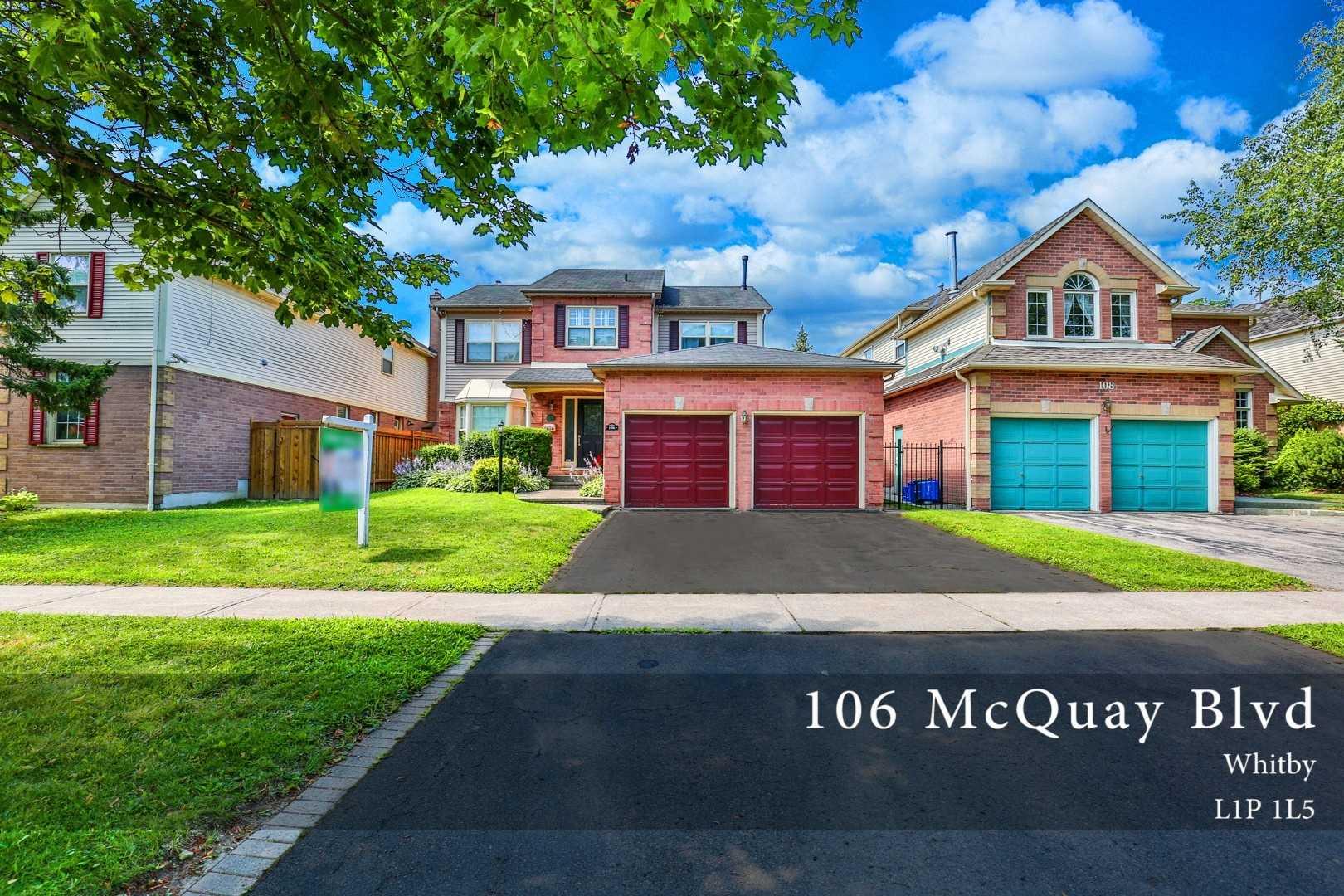 106 Mcquay Blvd, Whitby E4516813