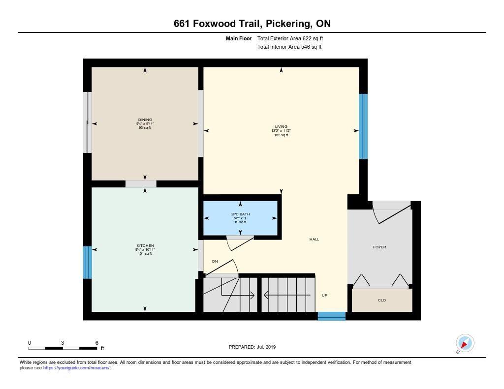 661 Foxwood Tr, Pickering E4534913