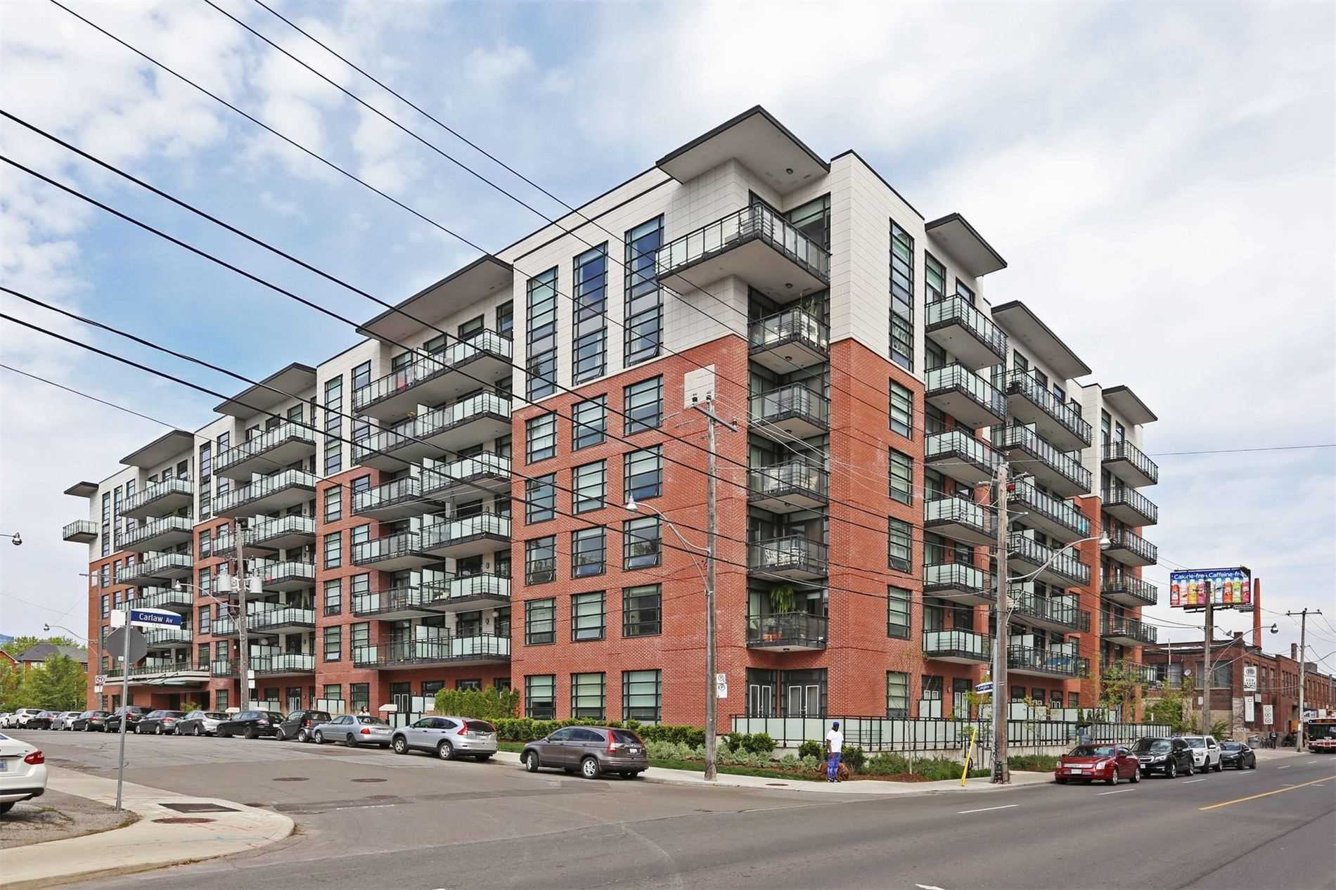 #520 - 88 Colgate Ave, Toronto E4595937