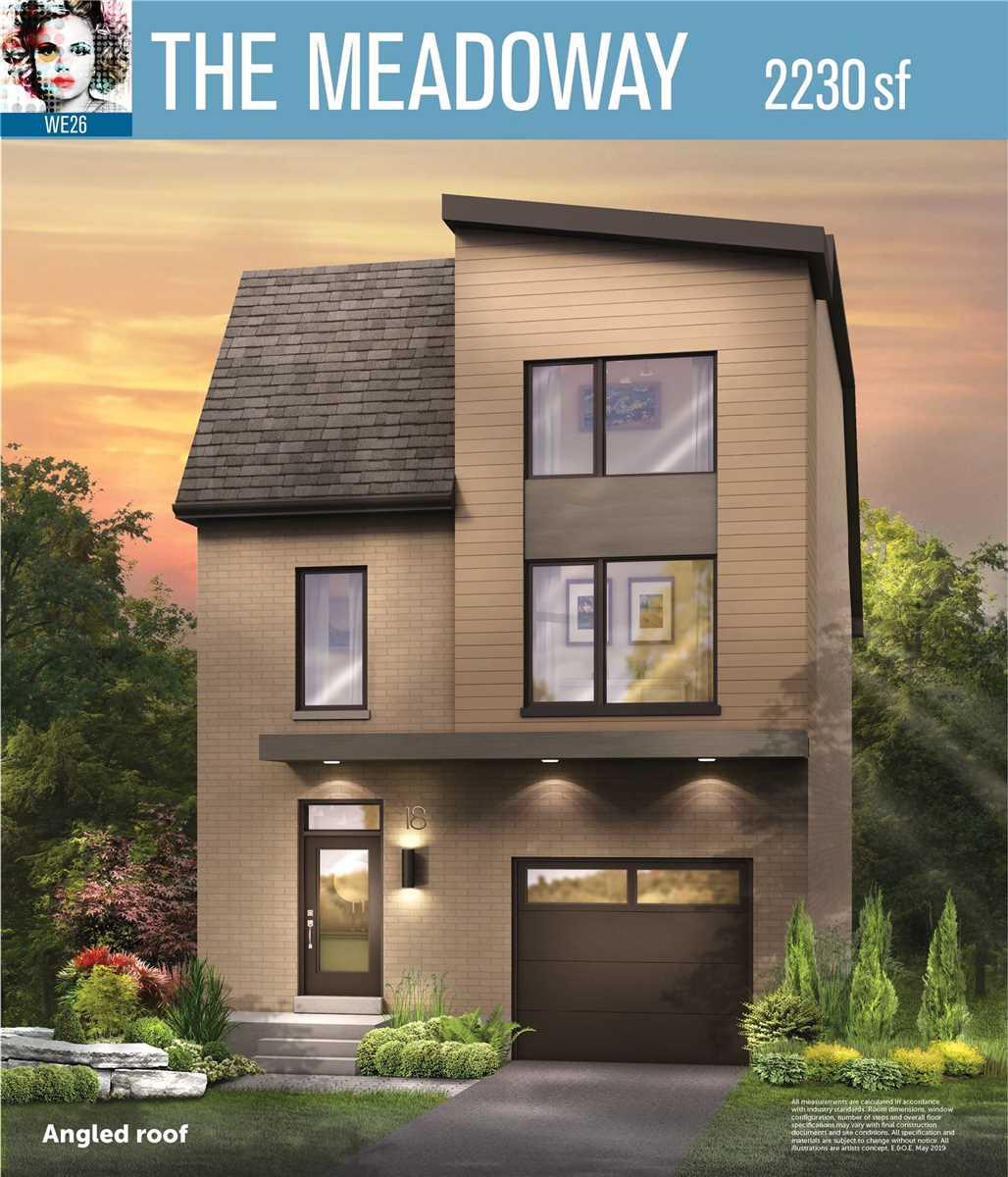 Lot 14 We26 Crt, Toronto E4599769