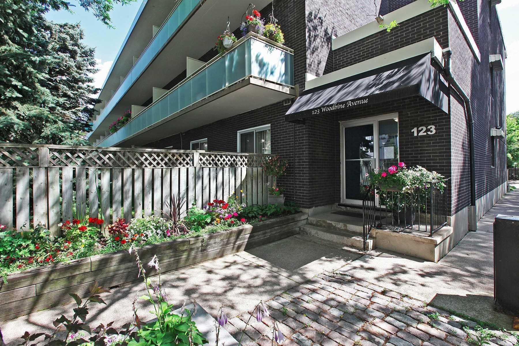 #108 - 123 Woodbine Ave, Toronto E4637438