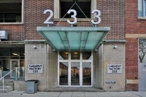 #503 - 233 Carlaw Ave, Toronto E4646179