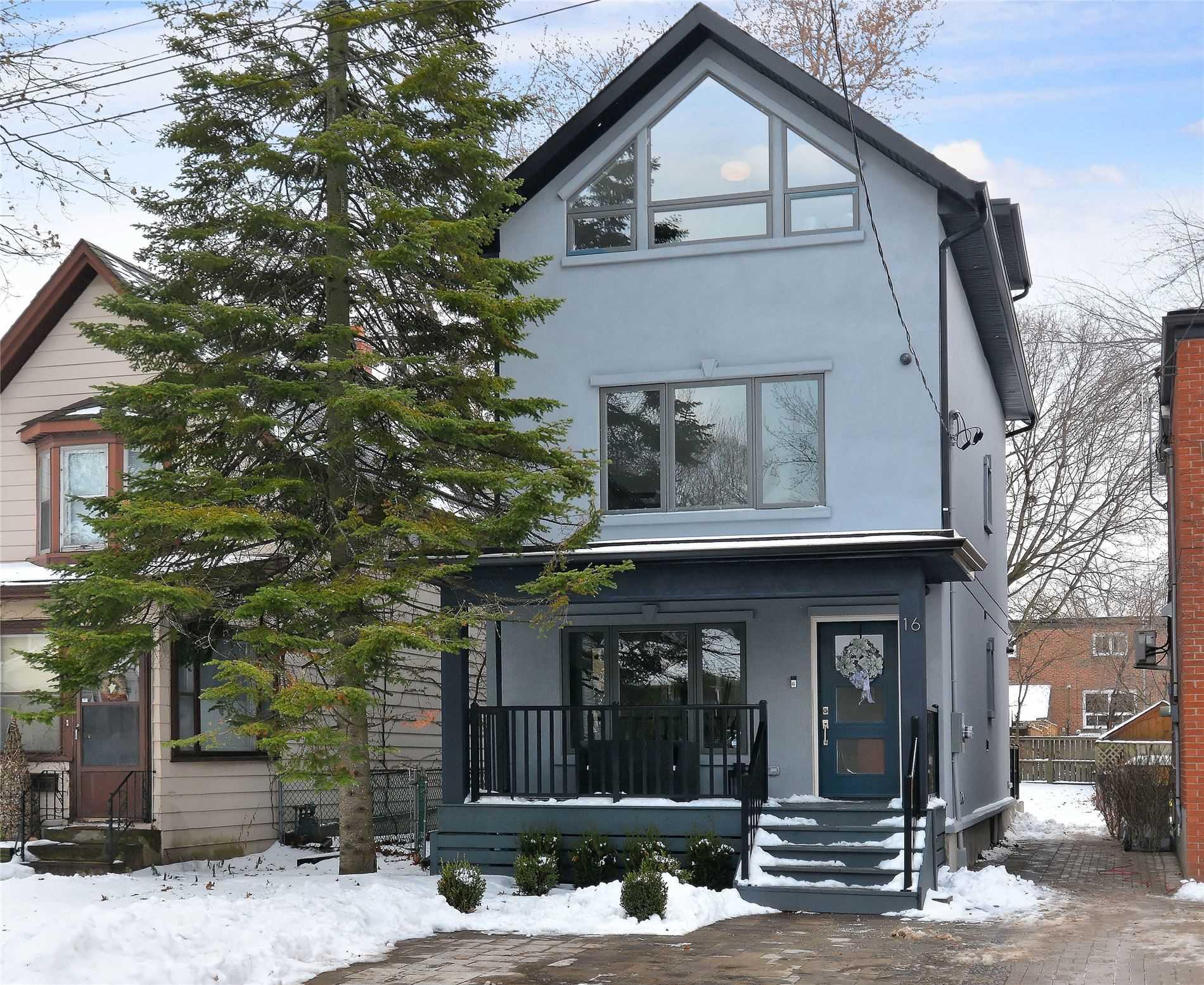 16 Woodlee Rd, Toronto, M4E2R1