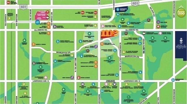 #2104 - 2 Meadowglen Pl, Toronto E4666150