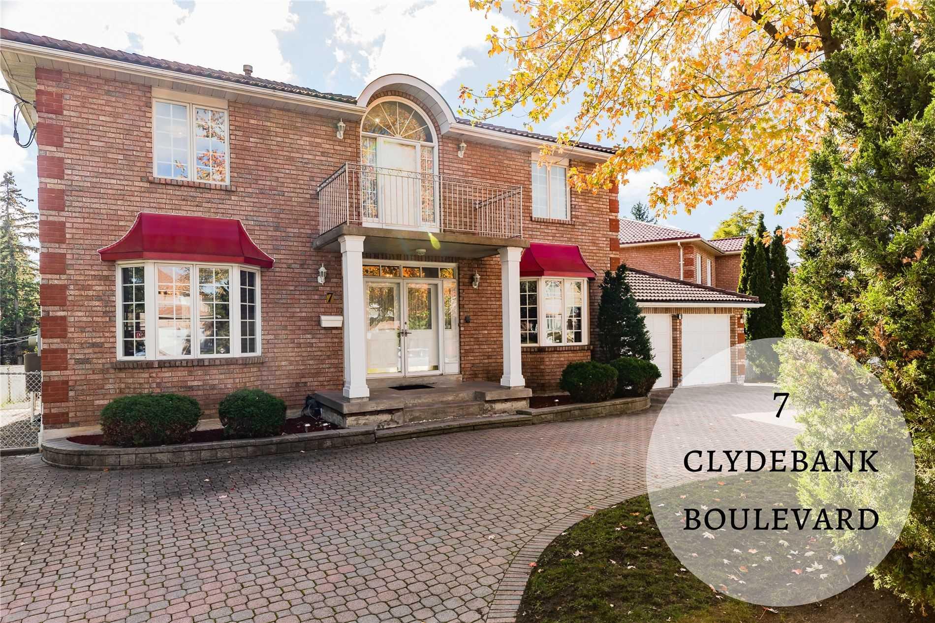 7 Clydebank Blvd, Toronto E4677435