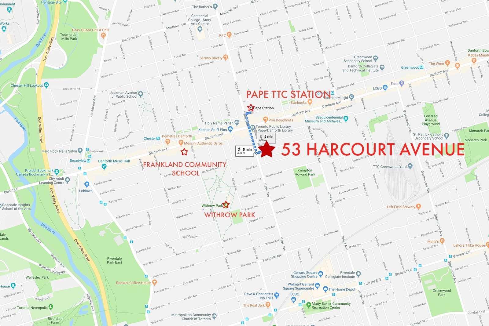 53 Harcourt Ave, Toronto E4684617