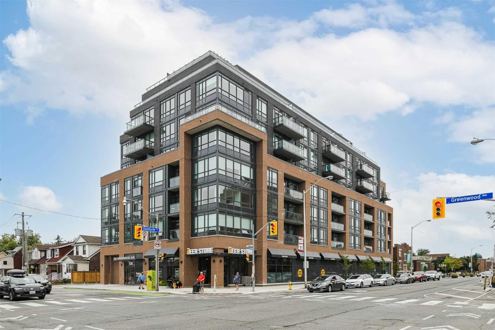 806 - 630 Greenwood Ave, Toronto, M4J0A8