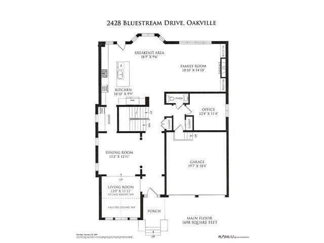 2428 Bluestream DR  , Oakville 30574693