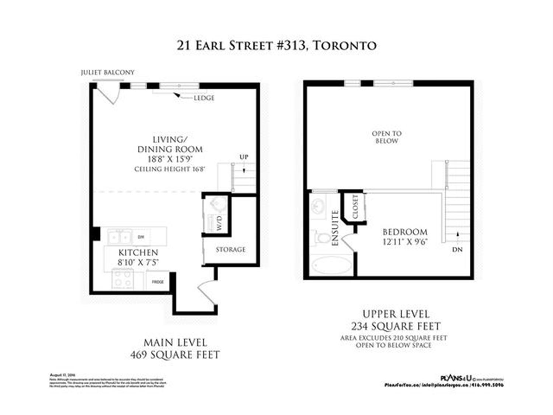 #313 - 21 Earl St, Toronto C3585208