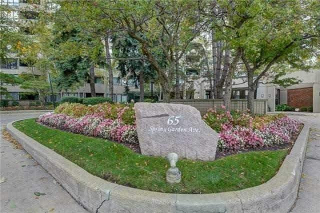 #1205 - 65 Spring Garden Ave, Toronto C3729723