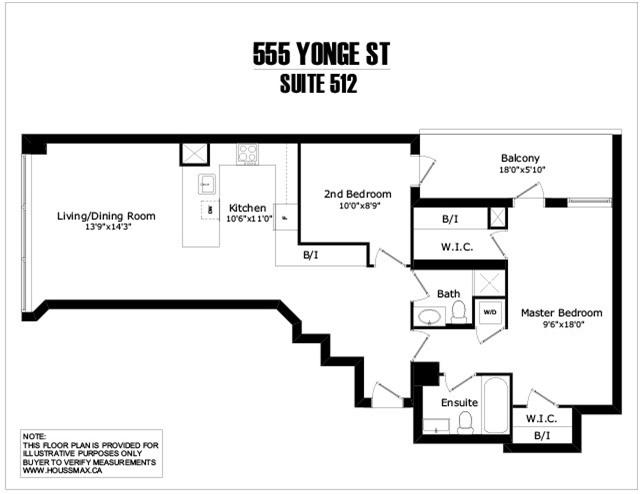 #512 - 555 Yonge St, Toronto C4050000