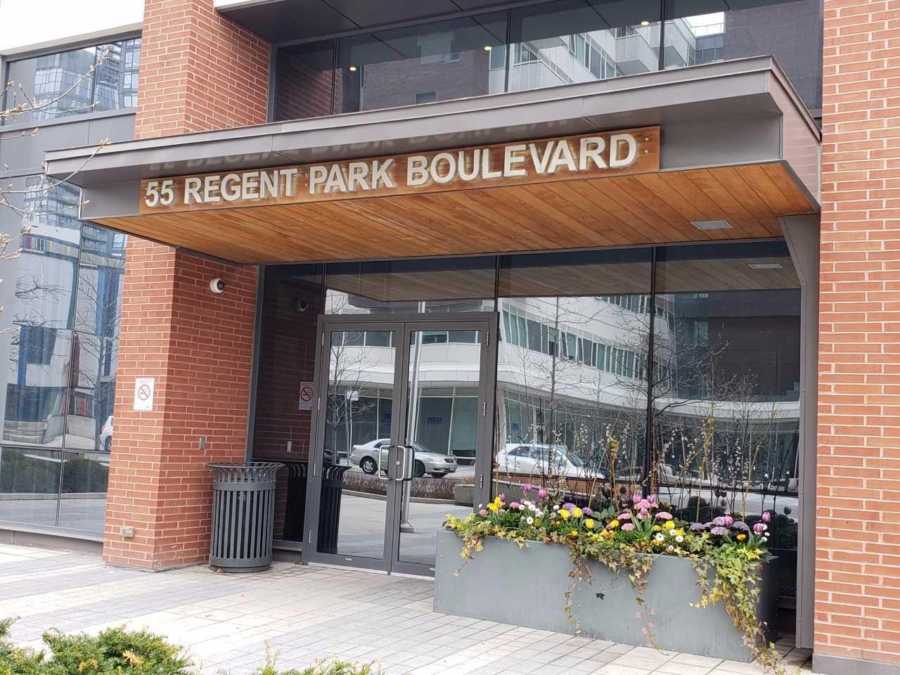 #2001 - 55 Regent Park Blvd, Toronto C4418689