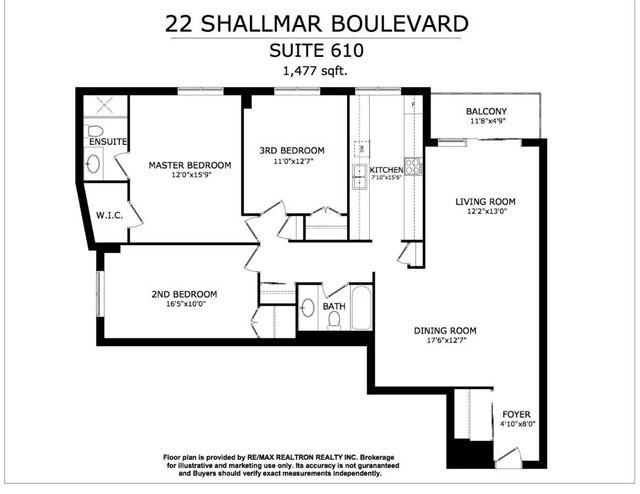 #610 - 22 Shallmar Blvd, Toronto C4447612