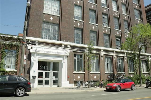 #003 - 245 Carlaw Ave, Toronto E3808326