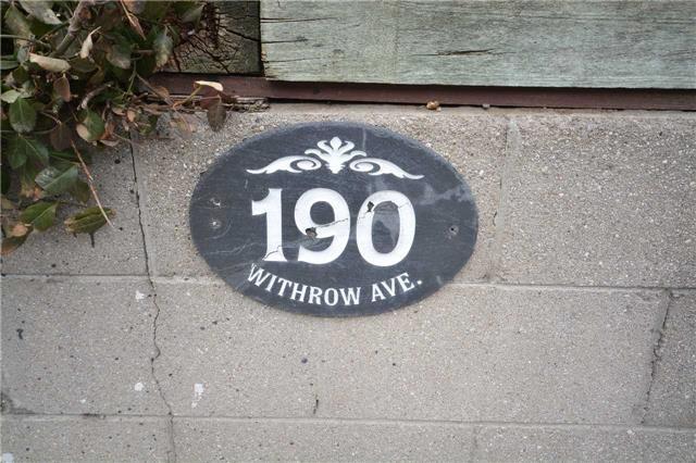 190 Withrow Ave, Toronto E4070059