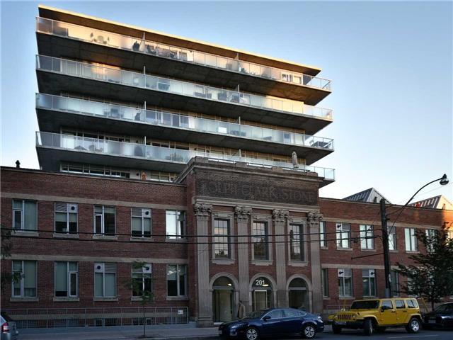 #203 - 201 Carlaw Ave, Toronto E4185319