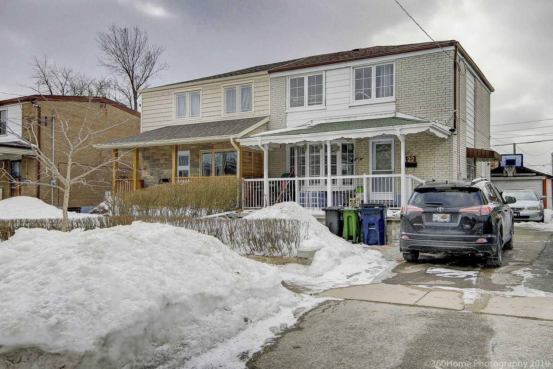 22 Woodfern Dr, Toronto E4366529