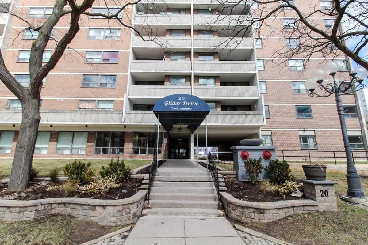 #1001 - 20 Gilder Dr, Toronto E4410964