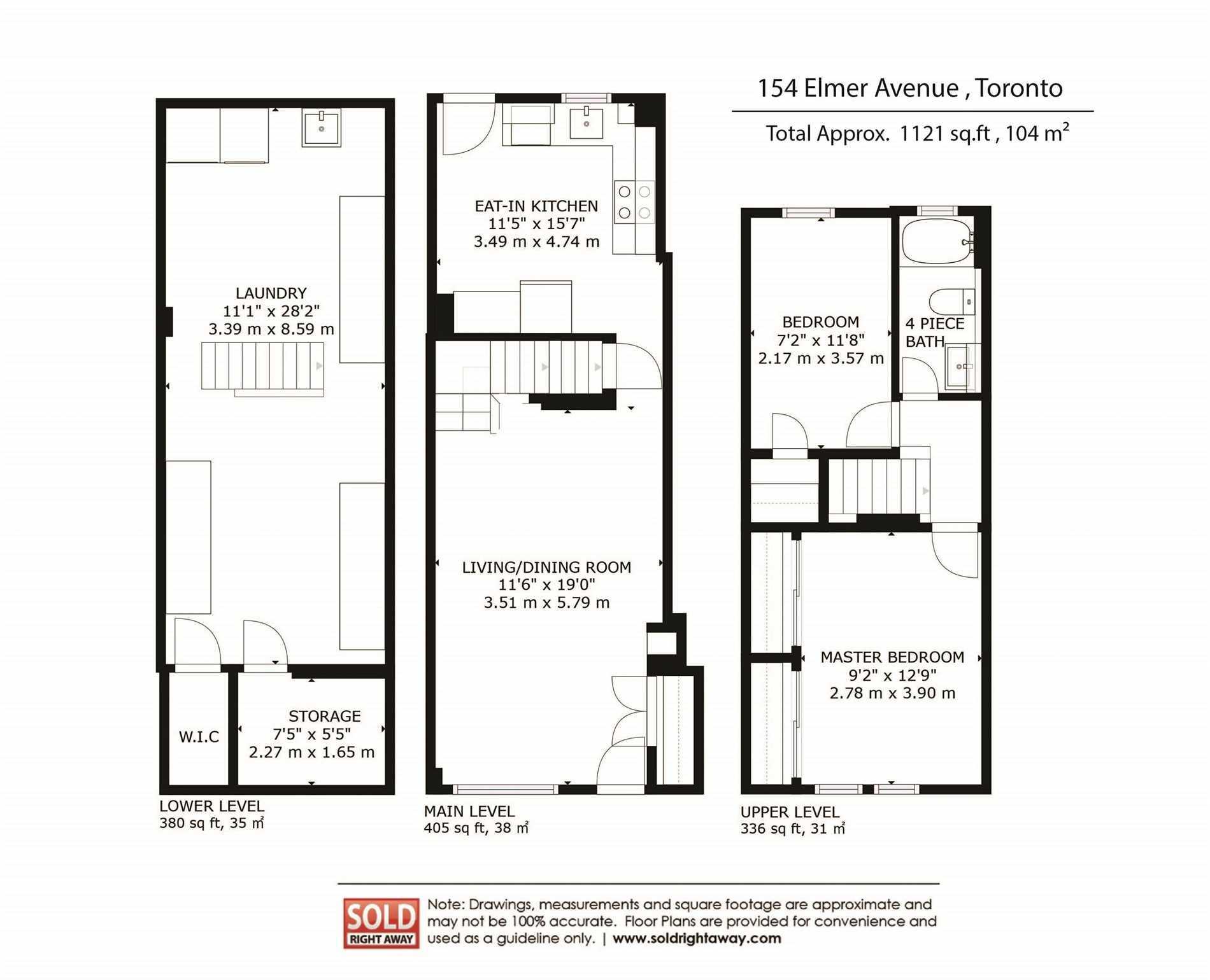 154 Elmer Ave, Toronto E4463635