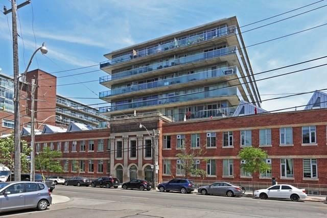 #702 - 201 Carlaw Ave, Toronto E4503237
