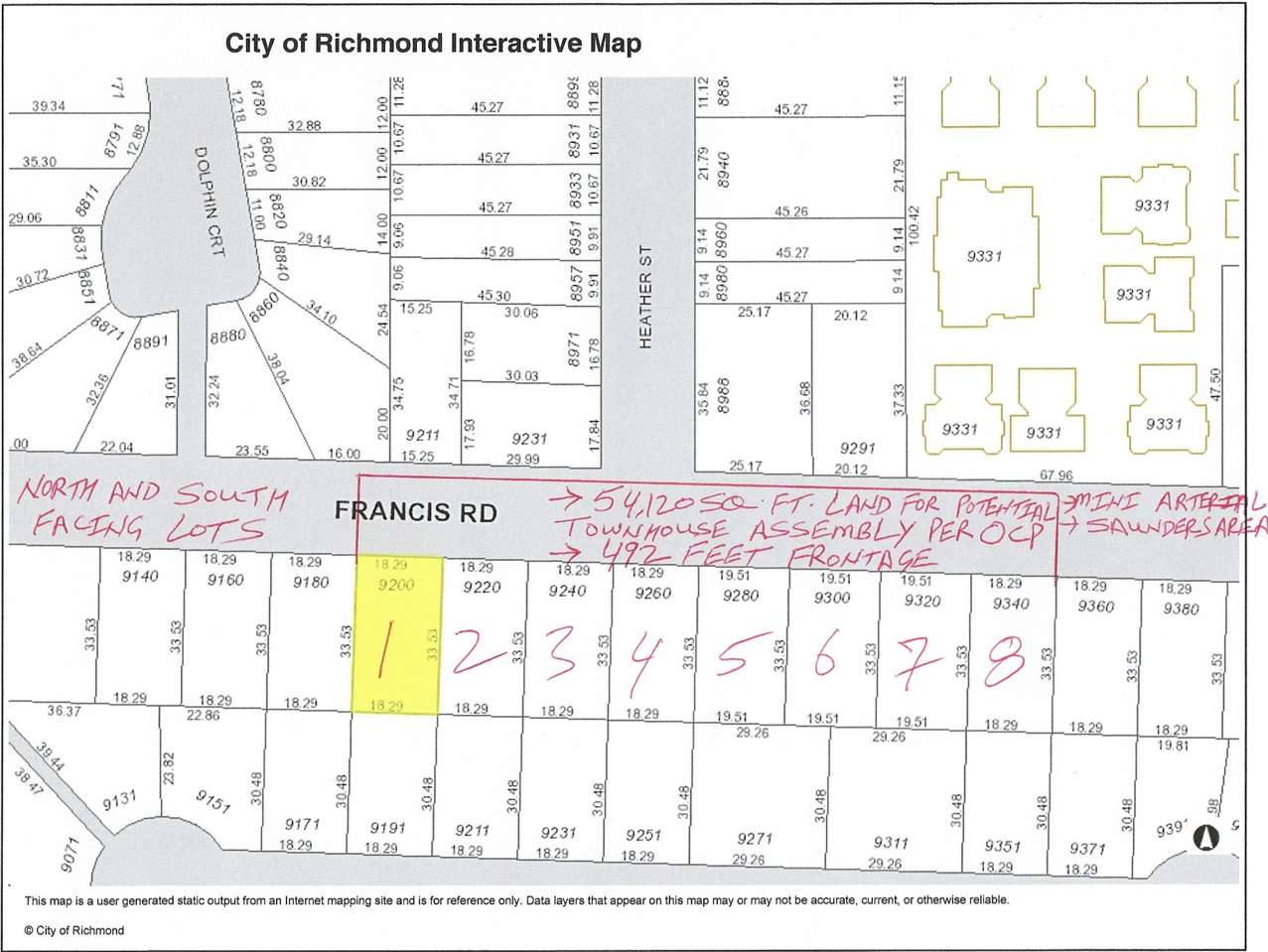 9340 FRANCIS   ROAD, Richmond R2221198