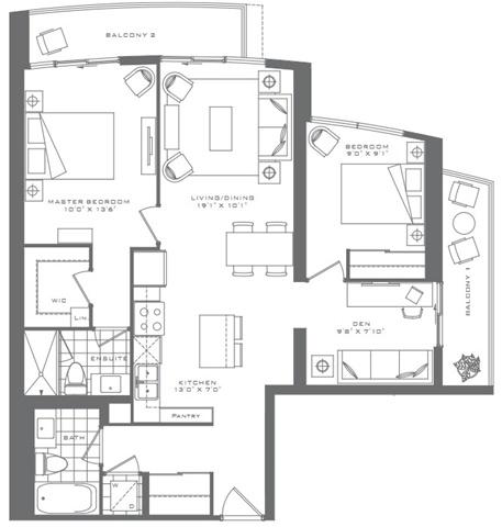 #3201 - 5 Valhalla Inn Rd, Toronto W3982020