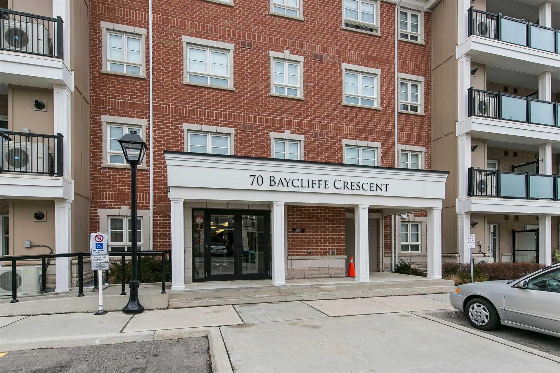#107 - 70 Baycliffe Cres, Brampton W4330480