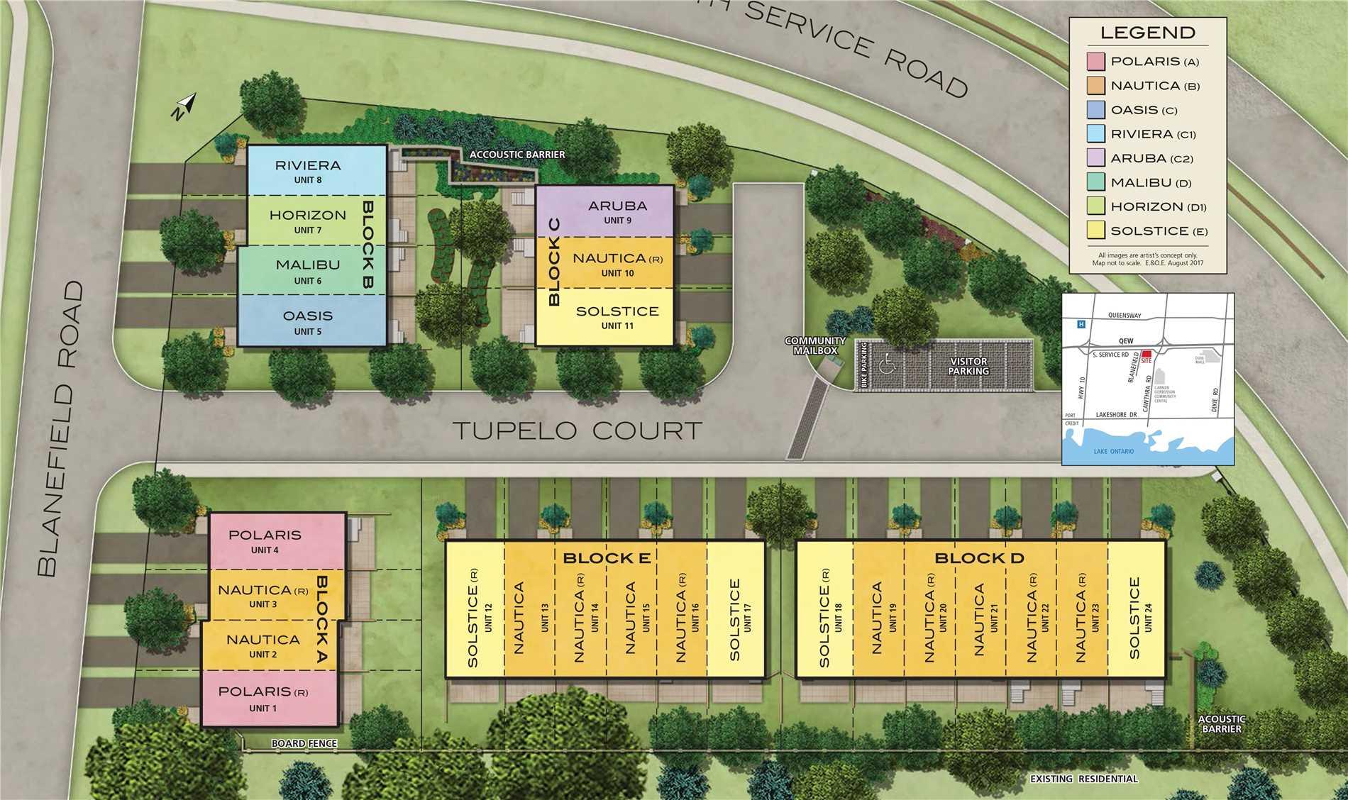 Unit 10 Tupelo  Crt, Mississauga W4451374