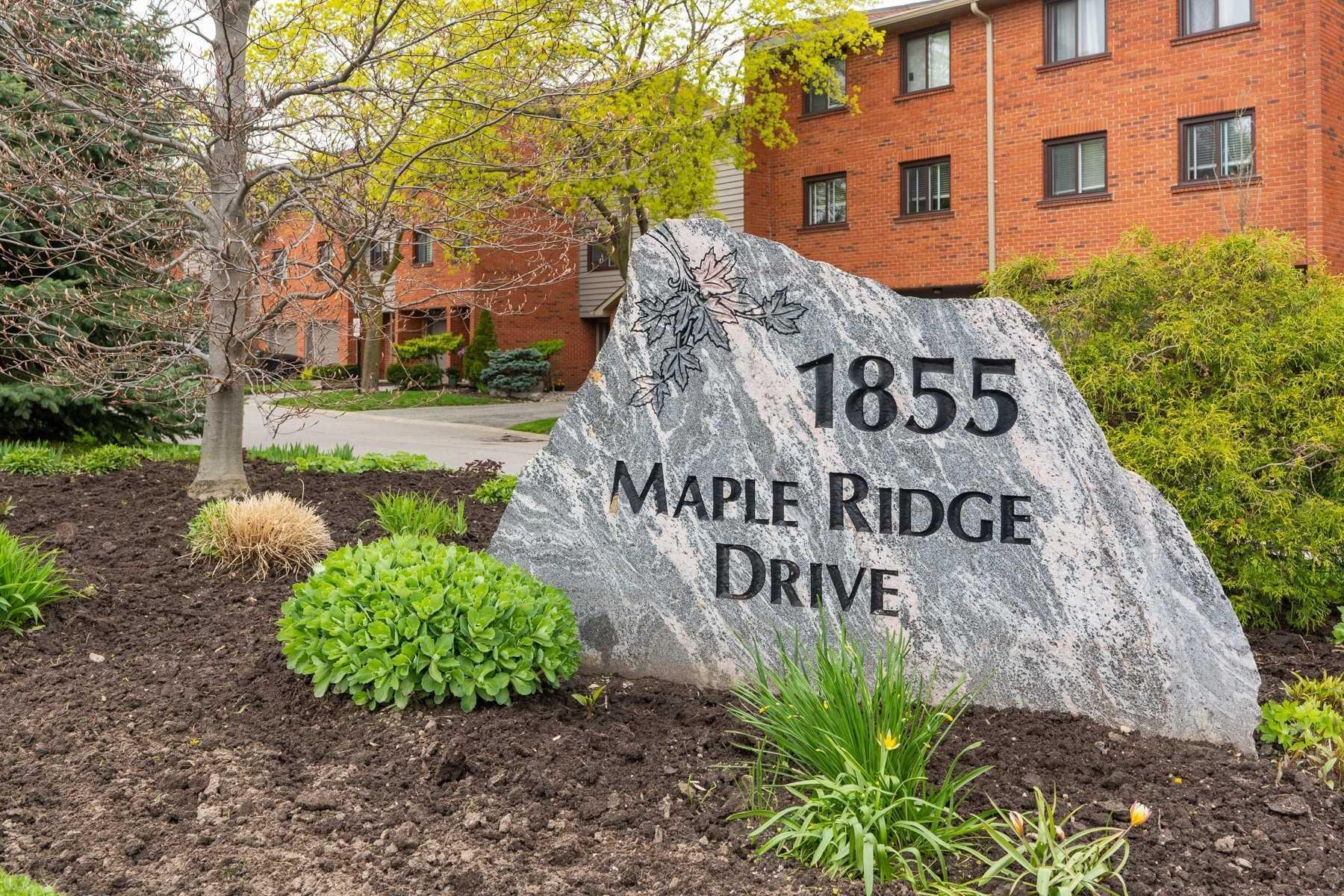 #30 - 1855 Maple Ridge Dr, Mississauga W4452580