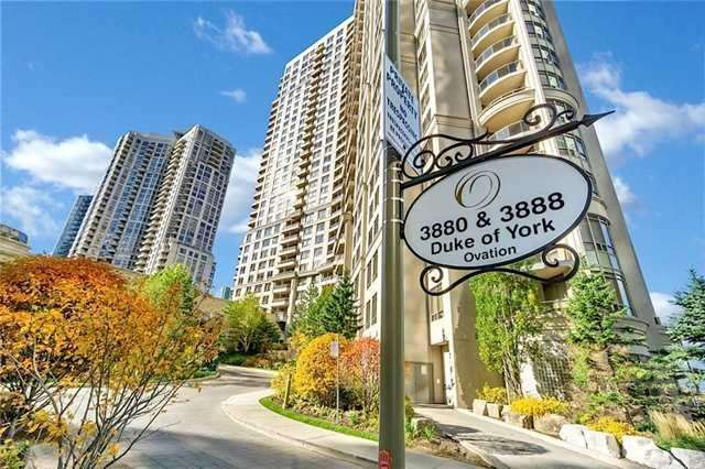 #1533 - 3888 Duke Of York Blvd, Mississauga W4463261