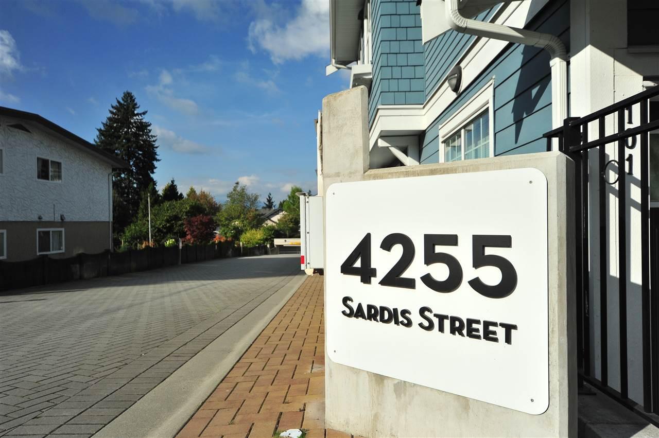 #113 - 4255 SARDIS Street, Burnaby R2408298