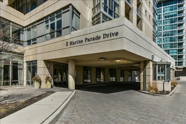 #809 - 3 Marine Parade Dr, Toronto W4425064