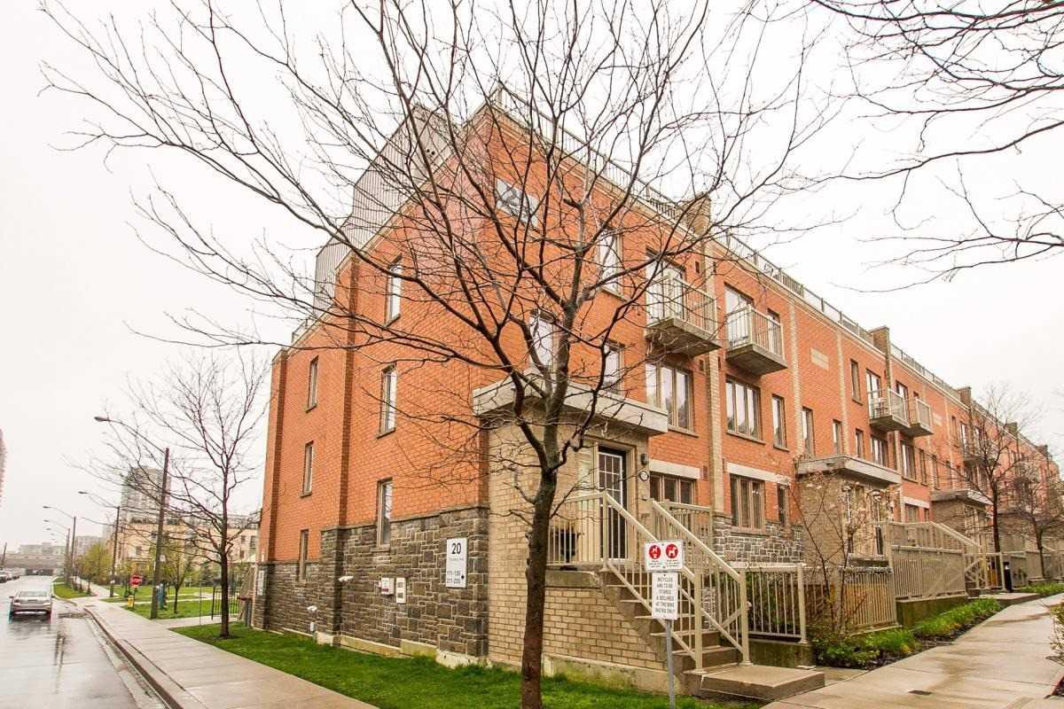 #212 - 20 Foundry Ave, Toronto W4511191