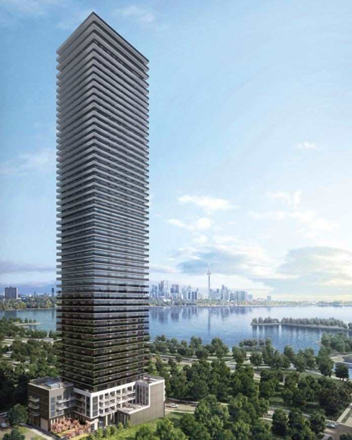 #4606 - 2167 Lake Shore Blvd W, Toronto W4595096