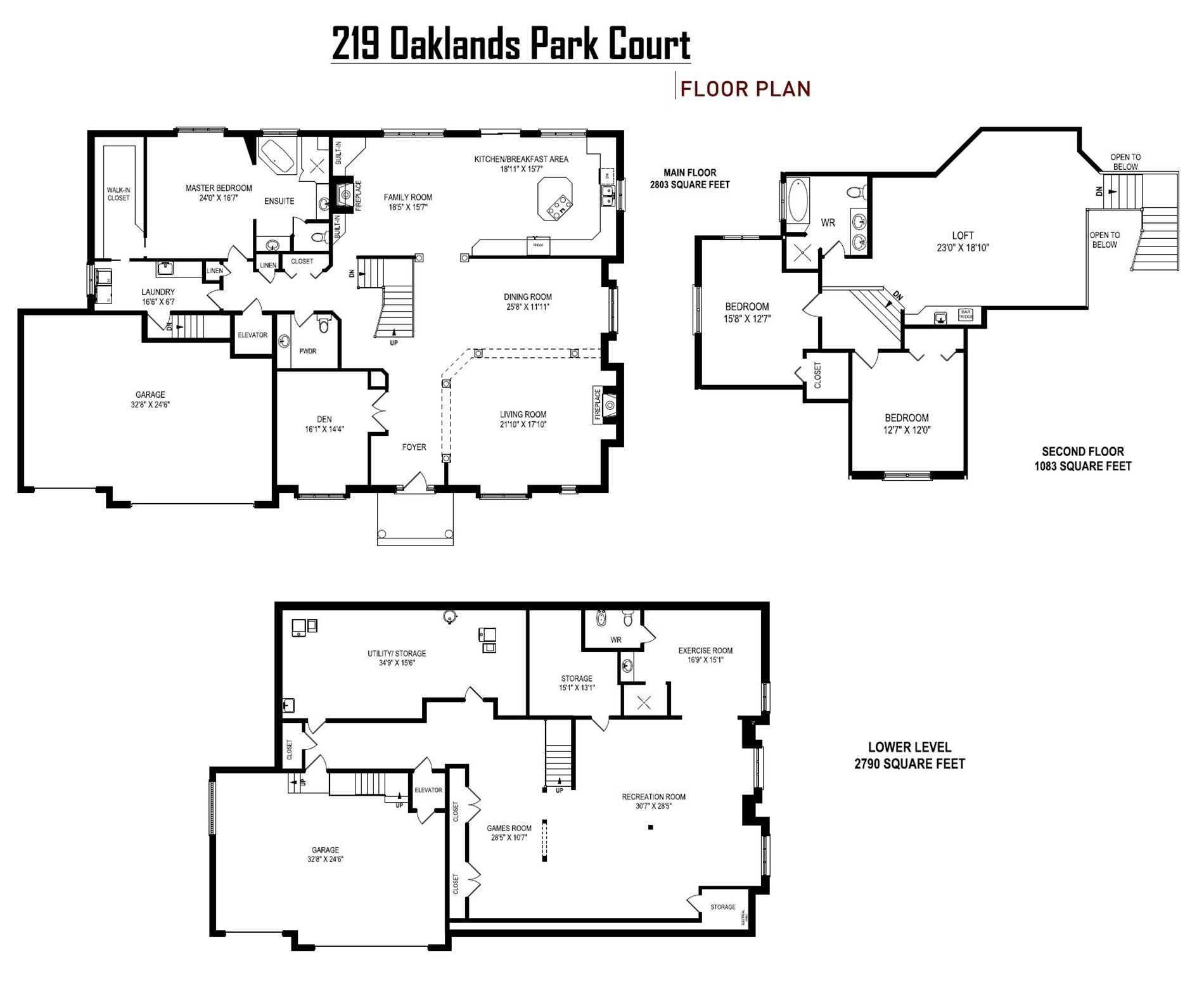 219 Oaklands Park Crt, Burlington W4648551