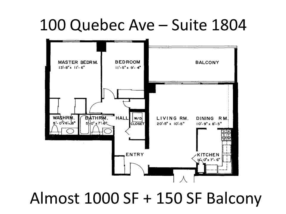 #1804 - 100 Quebec Ave, Toronto W4676967