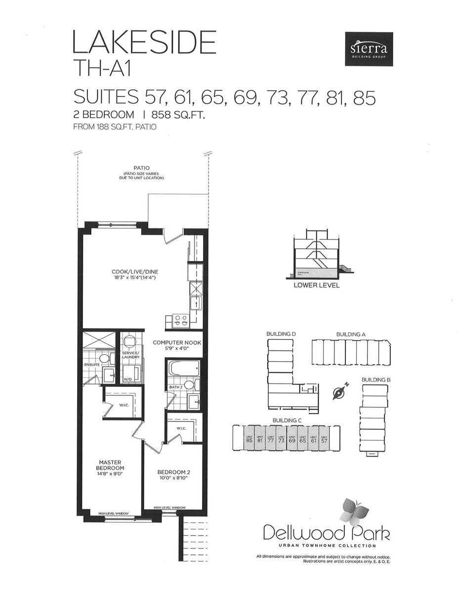 #9 - 650 Atwater Ave, Mississauga W4690950