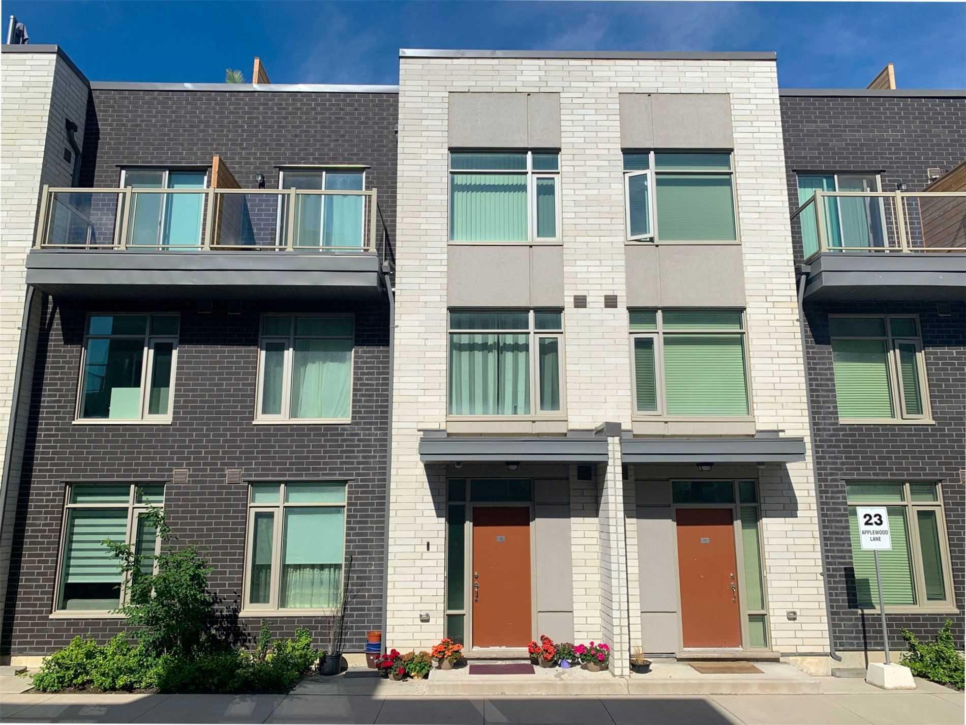 74 - 23 Applewood Lane, Toronto, M9C 0C1