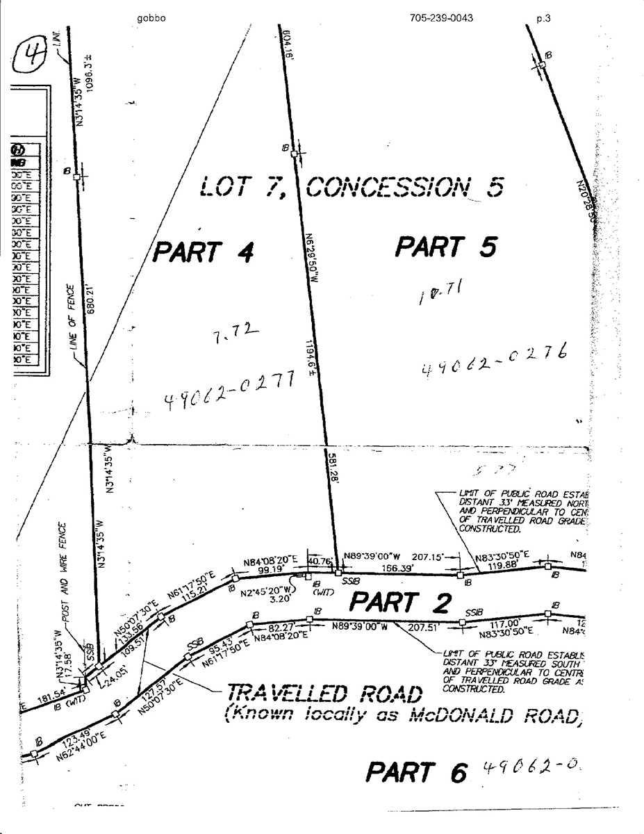 Pt4  0 Mcdonald Rd, West Nipissing X4411341